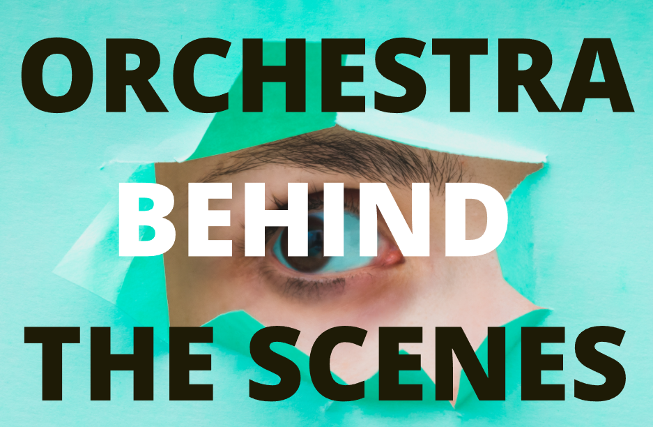 ORCHESTRA BEHIND THE SCENES